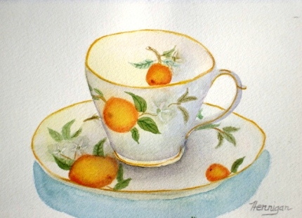 Grandma's Favorite Teacup
