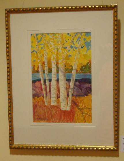 Birch Trees at Rivers Edge